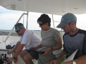 Navigating into Charleston Harbor