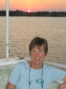 Kathy at sunset in Charleston