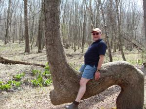 "Erwin rides the ""Horse Tree"""