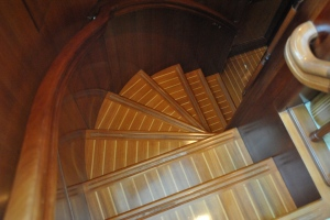 Steps to Engine Room