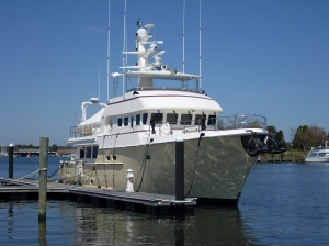 Docked at Solomon's Yachting Center