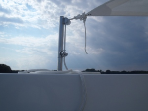 Tender Deck awning