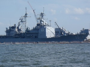 Our old friend Warship 55 in Norfolk