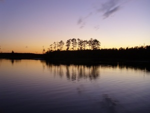 Dusk on the ICW
