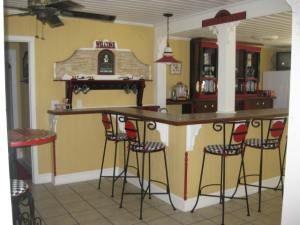 Bar at the house