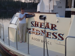 Shenandoah will be cruising on board Shear Madness and we will post photos from wherever we go!