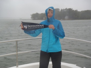 2012-10 Riding out Hurricane Sandy at anchor in Fishing Bay (Chesapeake Bay)