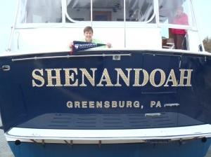 2012-11-01 Aboard the Hatteras Motor Yacht Shenandoah