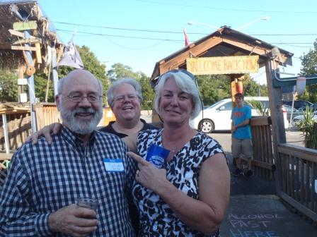 Rollie Winter, Bob Hamilton, Yvonne Wheaton