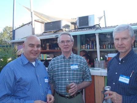 Dave Cohen, Pat, Bruce Gerdin