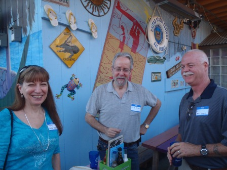Pam Stevenson Lilley, Pete Stock, Russ Lilley