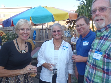 Sue Strickland, Clare Leary, Glenn Strickland, Joe Leary