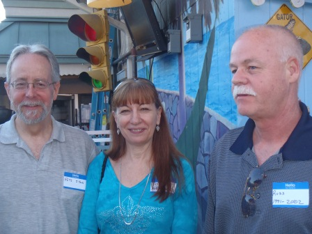Pete Stock, Pam and Russ Lilley