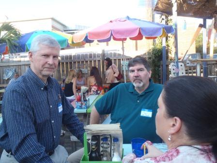 Bruce Gerdin, Keith Veler, Diana Veler