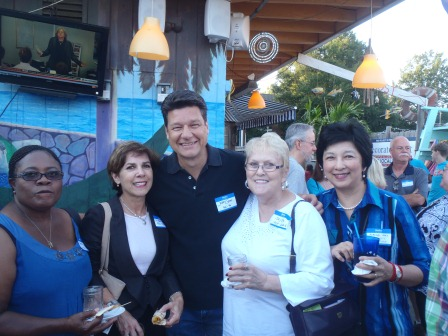 Marnel Williams, Aileen Bloom, Jeff Gray, Joyce Bennett, Dorothy Mei