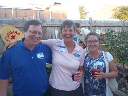 Glenn Strickland, Kathy, Lori Wilfong