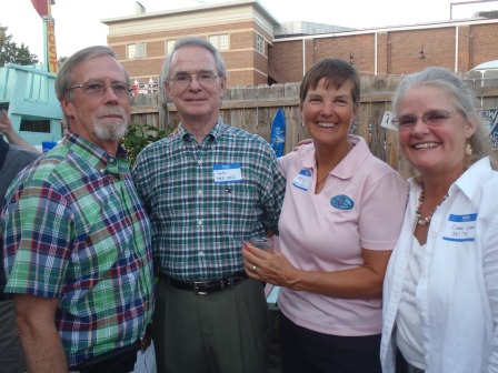 Joe Leary, Pat, Kathy, Clare Leary