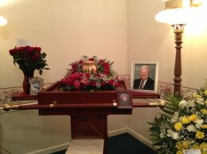 Norm's memorial service