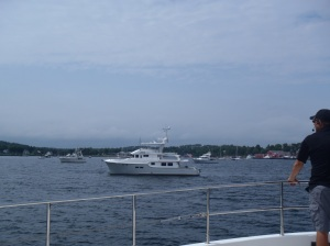 Argo, Bluewater, and Summer Star await as we arrive in Lunenburg