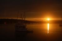 Bluewater at sunset –Lunenburg