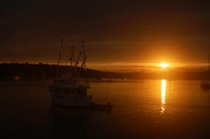 Bluewater at sunset - Lunenburg