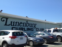 Our first ever Curling Club! Alas, it is summer so there is no curlingnow