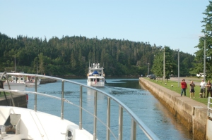 Following Summer Start through St. Peter Canal