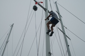Tyler Up the Mast