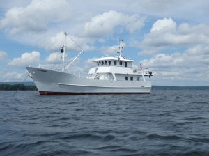 Rob and Tish's boat Kittiwake