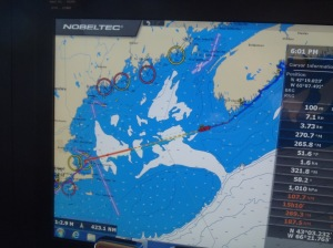 Our route from Nova Scotia to Cape Cod