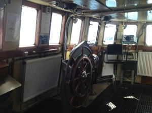 Wheelhouse on the Cape Sable