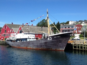 The Cape Sable fishing trawler at the museum
