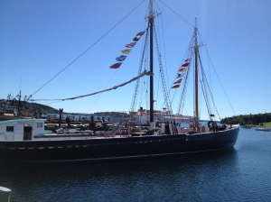 The Theresa E. Connor at the Fisheries Museum in Lunenburg
