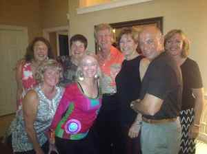 Kathy with friends in Florida