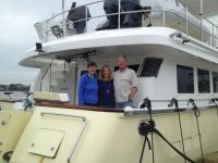 Nordhavn Dreamers Mike and Claiborne come for a visit in Charleston