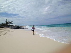 Darin at the beach