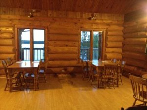 Dining room at Cape Breton Smokehouse