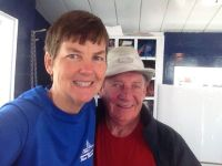 Kathy and CaptainGeorge