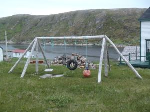 Battle Harbour Swing Set