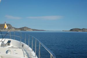 Underway to Nain with gorgeous scenery