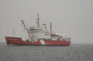 Canadian Coast Guard ship - we encountered her several times as she serviced buoys