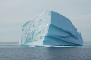 Our iceberg up close