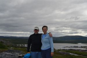 Bradley and Kathy in Makkovik