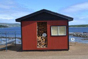 Woodshed in Makkovik