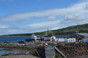 At the docks in Makkovik
