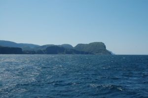 Beautiful scenery on Newfoundland coast