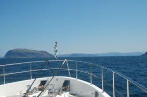 Approaching Bay of Islands