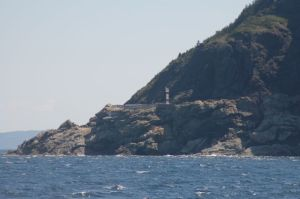 Lighthouse on Newfoundland Coast