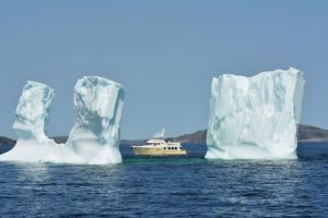 Shear Madness and a fabulous iceberg (photo by Marci/Migration)