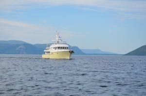 Shear Madness departing Bay of Islands (photo by Brad/Adventure)